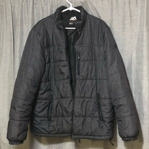 Men's large zero exposure coat